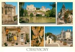 CHAUVIGNY  Multivue  19   (scan Recto-verso)MA2166Ter - Chauvigny