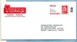 Marianne L'Engagée Fédération Française De Cardiologie LOT 231973 - Entiers Postaux
