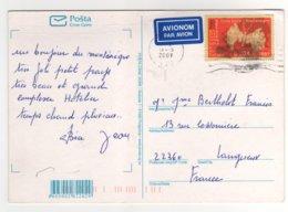 Beau Timbre  Sur Cp , Carte , Postcard De 2007 - Montenegro