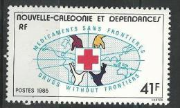 "Nle-Caledonie YT 501 "" Croix-Rouge "" 1985 Neuf** - Nueva Caledonia"