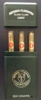 Cigares De Marque ANTONIO Y CLEOPATRA Avec Son étuis - Autres Collections