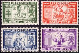 Luxembourg 0356/59**  MNH  Alliés - Luxemburg