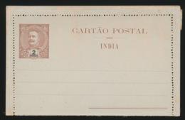 PORTUGAL  CARTAO POSTAL  INDIA  - 2 TANGAS - Inde Portugaise