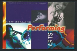 N. Zealand 1998 Performing Arts Prestige Booklet  Y.T. C 1584 ** - Markenheftchen