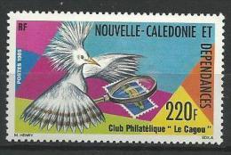 """Nle-Caledonie YT 504 """" Club Philatélique """" 1985 Neuf** - Nouvelle-Calédonie"""