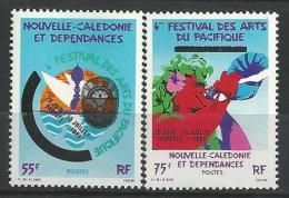 "Nle-Caledonie YT 505 & 506 "" Festival D'Arts "" 1985 Neuf** - New Caledonia"