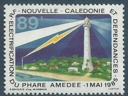"Nle-Caledonie YT 508 "" Phare "" 1985 Neuf** - Nouvelle-Calédonie"