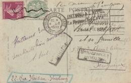 *** Marcophilie Inconnu à L'appel TB - 1921-1960: Periodo Moderno