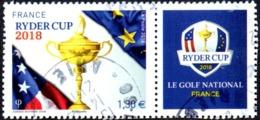 Oblitération Cachet à Date Sur Timbre De France N° 5245 Ryder Cup - Sport Golf - France