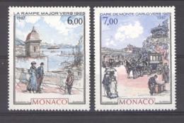 Monaco  :  Yv  1611-12  ** - Mónaco