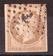 Napoléon III - N° 13A  - Ancre - Marcophilie (Timbres Détachés)