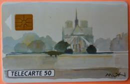 TELECARTE - PARIS ARSENAL VILLES MUSICIENNES 50U - 2 SCANS - 50 Unités