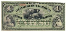 ARGENTINA1PESO1869PS1782UNCBanco Oxandaburu Y Garbino.CV. - Argentina