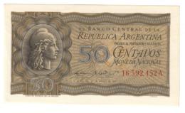 ARGENTINA50CENTAVOS1947P256UNC.CV. - Argentina