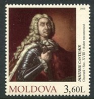 MOLDOVA 2003 Cantemir Anniversary MNH / **.  Michel 474 - Moldawien (Moldau)