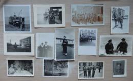 """Militaria - Lot De 19 Photos - Camion Militaire - Marine """"Marin"""" - Bateau - Aviation - Form:16/10cm Et 8/6cm - Militaria"""