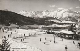 PONTRESINA  EISRINKS  EISBAHN - GR Graubünden