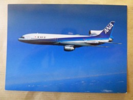 ANA / ALL NIPPON AIRWAYS   TRISTARD   AIRLINE ISSUE / CARTE COMPAGNIE - 1946-....: Modern Era