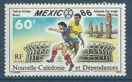"""Nle-Caledonie YT 518 """" Mexico 86 """" 1986 Neuf** - New Caledonia"""