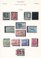 DDR - 1956 - Sammlung - Gest./Ungebr. - DDR
