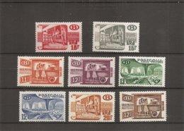 Belgique ( TR 322/329 XXX -MNH) - 1923-1941