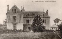 Le Grand Fougeray (35) - Château De La Derre. - Francia