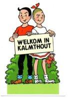 Kalmthout Suske En Wiske Bob Et Bobette Strip Stripkaart BD - Bandes Dessinées