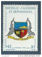 "Nle-Caledonie YT 524 "" Armoiries "" 1986 Neuf** - Nueva Caledonia"
