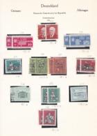 DDR - 1959 - Sammlung - Gest./Ungebr. - DDR