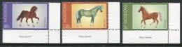 MOLDOVA 2002 Horses MNH / **.  Michel 443-45 - Moldavie