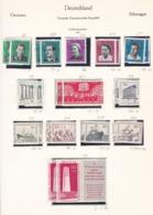 DDR - 1961 - Sammlung - Gest./Ungebr. - DDR