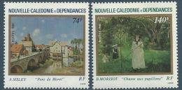 """Nle-Caledonie YT 529 & 530 """" Tableaux """" 1986 Neuf** - Ungebraucht"""
