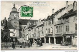 88. Saint Dié. Place Jules Ferry Et Cathédrale - Saint Die