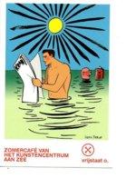 Herr Seele   Strip Stripkaart BD - Vrijstaat O Oostende - Bandes Dessinées