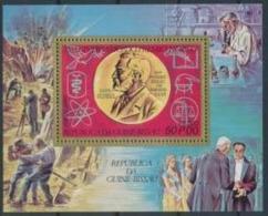 Guinée Bissau 1977 Nobel Alfred  Nobel Médaille Nobel Dynamite BF MNH - Nobel Prize Laureates