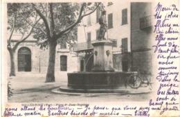 SOLLIES PONT .... PLACE ST JEAN BAPTISTE - Sollies Pont