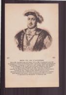 HENRI VIII ROI D ANGLETERRE - Familias Reales