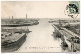 59. Dunkerque. Vue Générale De L'entrée Du Port - Dunkerque