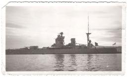 ANCIENNE PHOTO BATEAU DE GUERRE  (11,5 X 6,5 Cm) - Barche