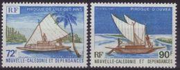 "Nle-Caledonie YT 535 & 536 "" Pirogues "" 1987 Neuf** - Nieuw-Caledonië"