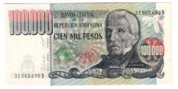 ARGENTINA100000PESO1979P308UNC.CV. - Argentina