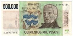 ARGENTINA500000PESO1980P309UNC.CV. - Argentina