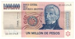 ARGENTINA1000000PESO1980P310UNC.CV. - Argentina