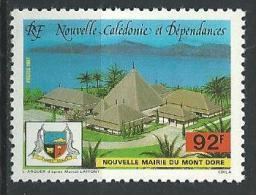 "Nle-Caledonie YT 537 "" Mairie "" 1987 Neuf** - Nouvelle-Calédonie"