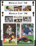 Bhutan 1997 Mi. 1749-1765 B373- SS 100% MNH World Cup ' 98 - Bhutan