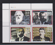 Etats-Unis / USA, Inventeurs, Photographie, Linotype, Cinéma / Photography, Linotype, Movies - Altri