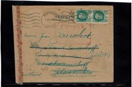 LCTN57/2 - FRANCE LETTRE MONTARGIS DE JUILLET 1943 POUR L'ALLEMAGNE CENSURE ET RETOUR ENVOYEUR - Postmark Collection (Covers)