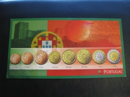 Germany Unused Postcard Clean Image Of Euro Coin Portugal - Coins (pictures)