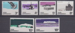 Ross Dependency 1972 Definitives 6v ** Mnh (44957) - Ross Dependency (Nieuw-Zeeland)