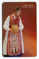 Telecarte °_ Lituanie-50-motifs Jupe Pot- R/V 3575 - Litauen